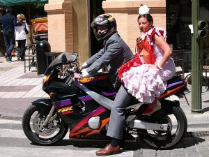 Modern Flamenco Lady, Seville